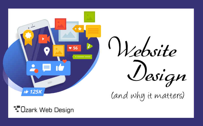 Why is web design important